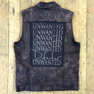Defeater 'Unwanted' Back Patch