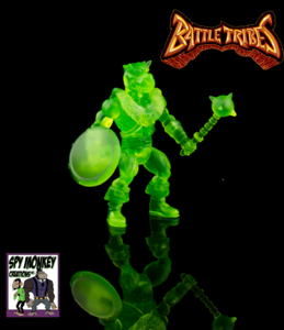 Battle Tribes Battle Builder Oozarian Green