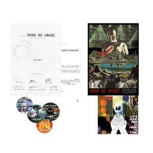 Johnny Foreigner - Mono No Aware Advance Screening Presentation Set + Download