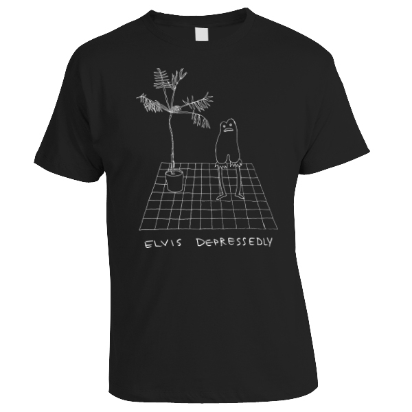 Elvis Depressedly - Desert Shirt