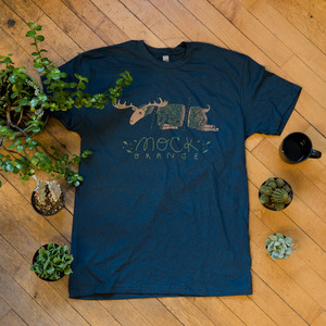 Mock Orange - Moose Shirt
