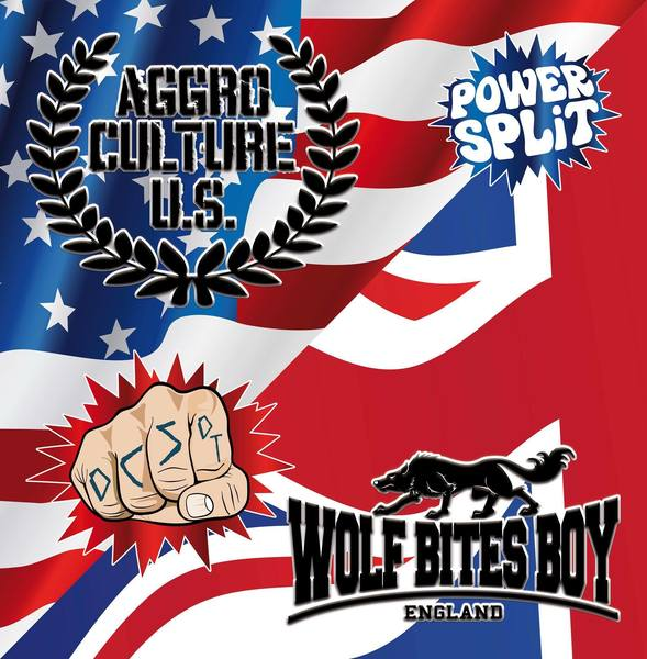 Power Split Vol 2 -  Aggroculture U.S. / Wolf Bites Boy