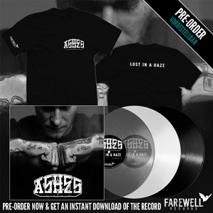 ASHES ´lost in a haze´ LP [PRE-ORDER]