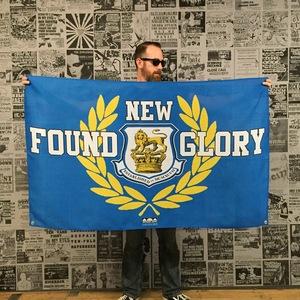 New Found Glory 'Crest' Banner