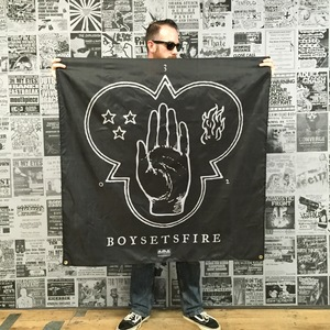 Boysetsfire 'While a Nation Sleeps' Banner