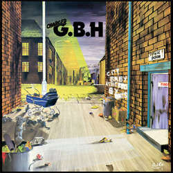 G.B.H. - City Baby Attacked By Rats (colored vinyl LP)