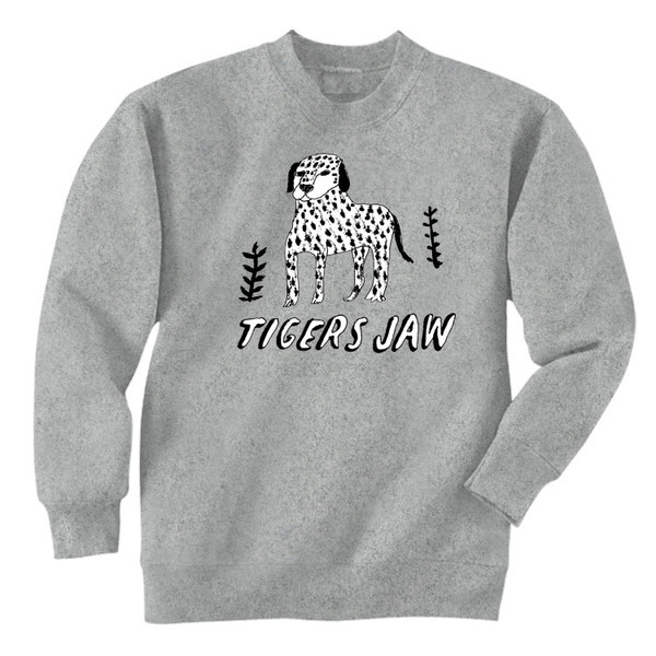 Tigers Jaw - Dalmation Crewneck Sweatshirt