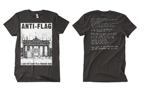 Anti-Flag - Brandenburg Gate t-shirt