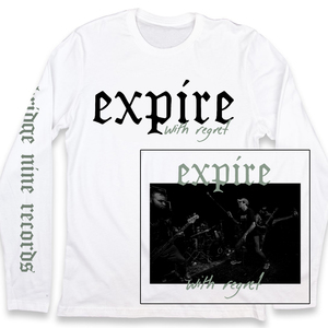 Expire 'With Regret' 3 Sided Longsleeve