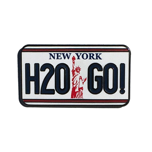 H2O 'License Plate' Enamel Pin