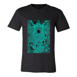 Monkey Temple - Unisex Black Shirt