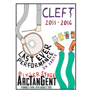 Cleft - Final Show Art Print