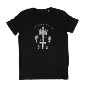 Chelsea Wolfe - Queen of Swords - T-Shirt - Black
