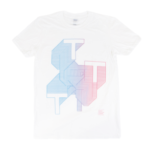 Three Trapped Tigers - TTT T-shirt - White