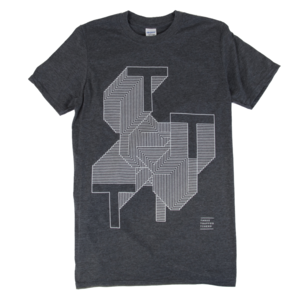 Three Trapped Tigers - TTT T-Shirt - Dark Heather