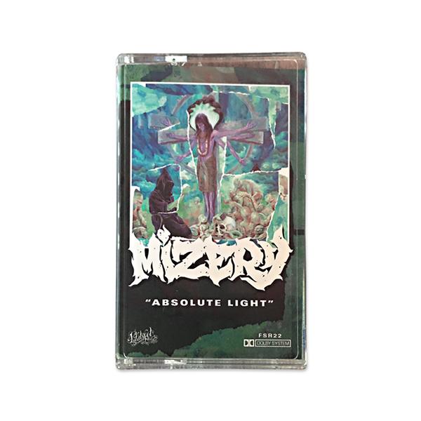 Mizery - Absolute Light Cassette Tape