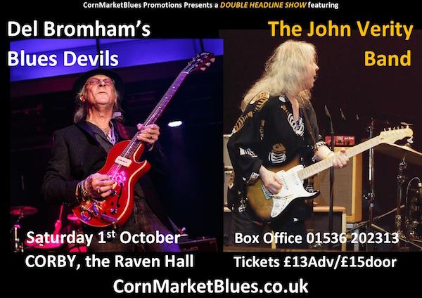 Del Bromham + John Verity