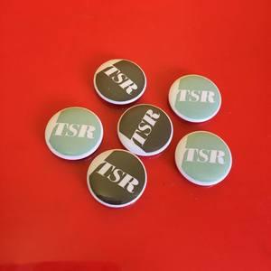 Topshelf Records - Alternative Logo Button