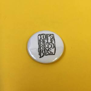 Topshelf Records - 8 Bit Logo Button
