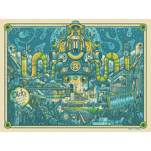 Phish Dick's Sporting Goods Park - Print