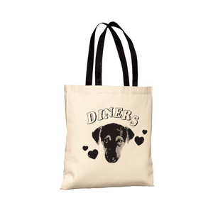 Diners - Pup Tote Bag