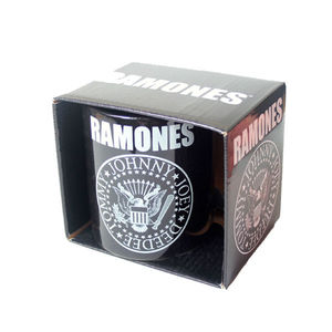 RAMONES Presidential Seal Boxed Ceramic Coffee Cup Mug