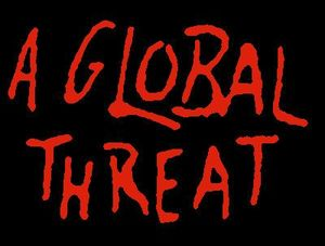 A Global Threat: Screen printed patch