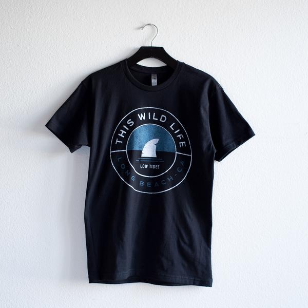 Shark Fin T-Shirt (Black)