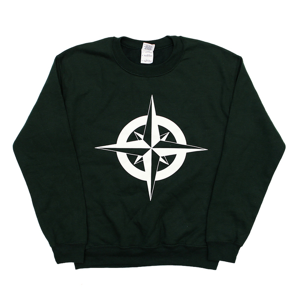 Dads - Bottle Green Compass Sweater