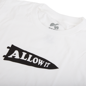 Allow It Tee - White