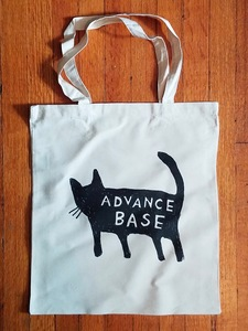 ADVANCE BASE - Cat Tote Bags