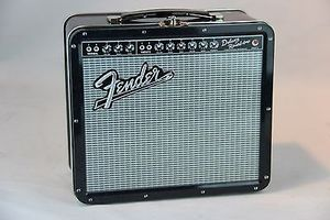 FENDER GUITAR AMP LUCH BOX