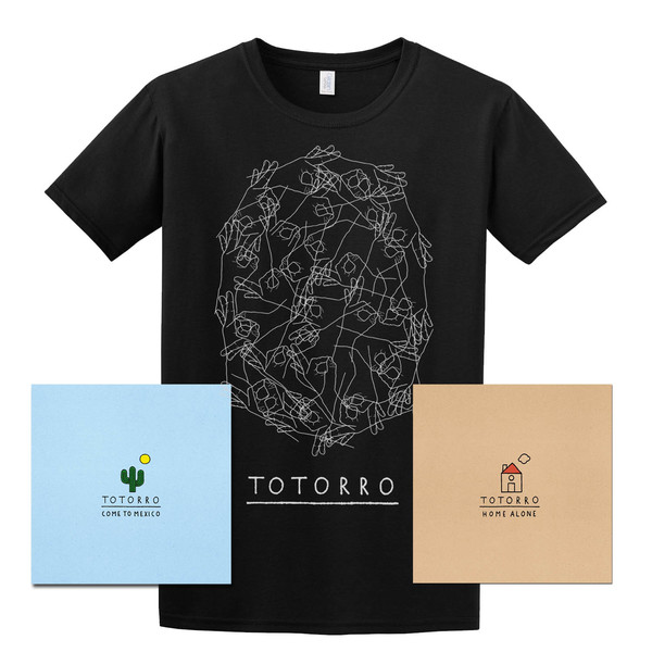 Totorro - T-Shirt and Album Bundle