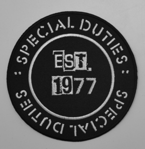 Special Duties: Circle logo embroidered patch
