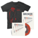 Broker LP, Art Print + Tshirt Bundle (Black)