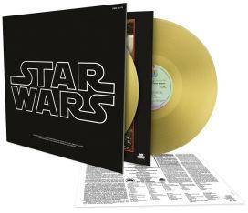 Star Wars Episode IV: A New Hope 2 LP Gold Vinyl
