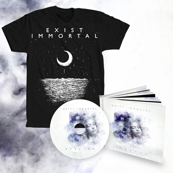 Exist Immortal - Breathe bundle #1 (digipak album + t-shirt)