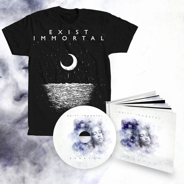 Exist Immortal - Breathe bundle #1 (digipak album + t-shirt)