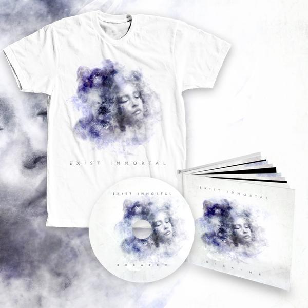 Exist Immortal - Breathe bundle #2 (digipak album + t-shirt)