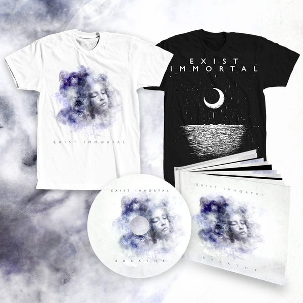 Exist Immortal SUPER bundle (digipak album + 2x t-shirt)