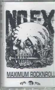 NOFX - Maximum Rocknroll - Cassette Tape - Sealed NEW COPY