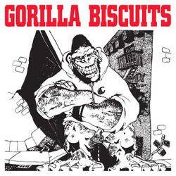 GORILLA BISCUITS STICKER EP Cover