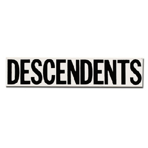 Descendents vinyl sticker