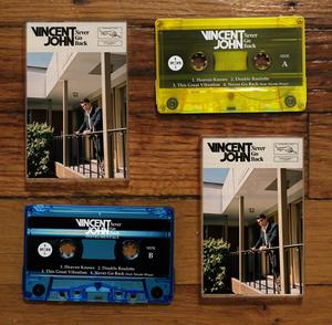 Vincent John - Never Go Back - Cassette