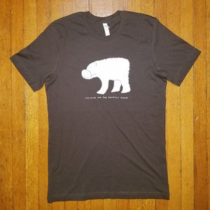 CASIOTONE FOR THE PAINFULLY ALONE- Polar Bear Shirt