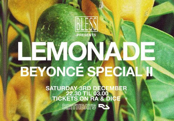 LEMONADE: Beyonce Special