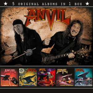 Anvil - 5 Original Albums In 1 Box