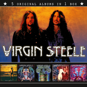 Virgin Steele - 5 Original Albums In 1 Box