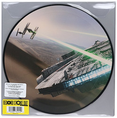Star Wars The Force Awakens - March Of The Resistance / Rey's Theme Vinyl 10