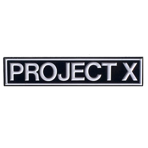 Project X 'Logo' Enamel Pin